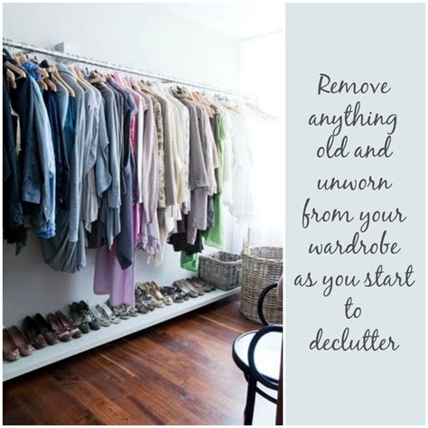 Declutter Wardrobe by How To Organise Your Wardrobe By Jen Stanbrook The Oak