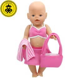 aliexpress buy 43cm baby born zapf doll clothes pink