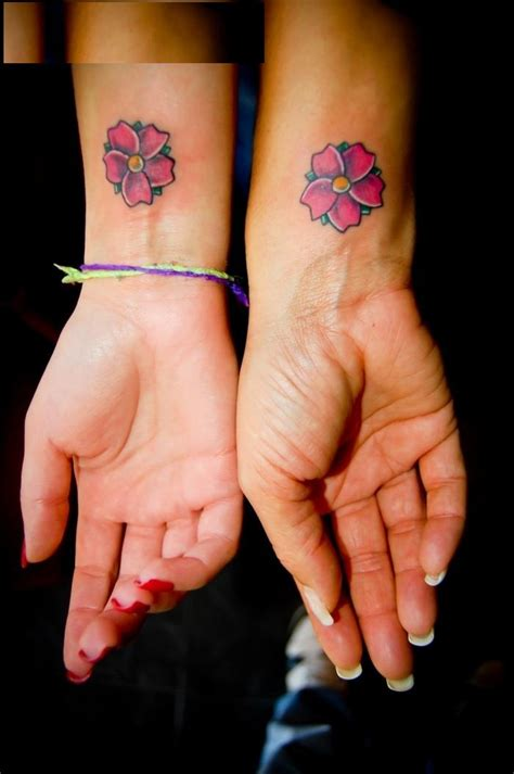 friendship tattoo designs flower friendship tattoos