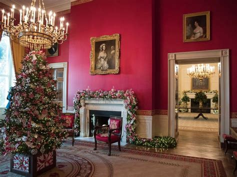 decoration house white house reveals 2017 christmas decorations abc news