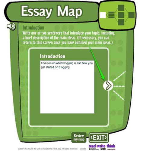 Essay Map Read Write Think by Readwritethink Essay Map