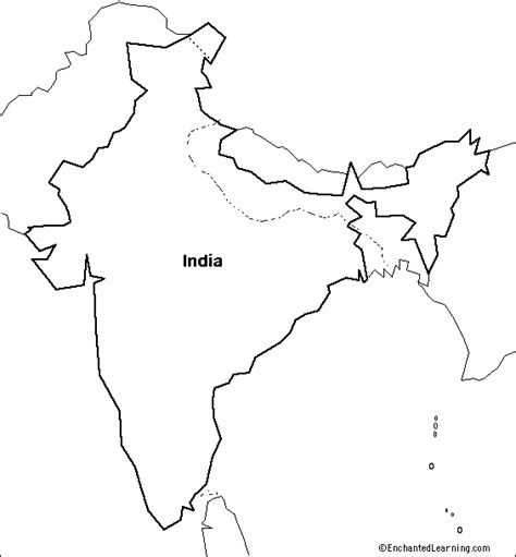 Outline History Of Indian by India Map Outline New Calendar Template Site