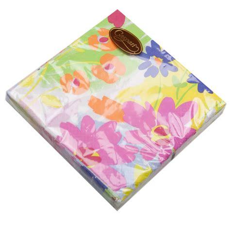 design napkins online floral splash design triple ply paper napkins party
