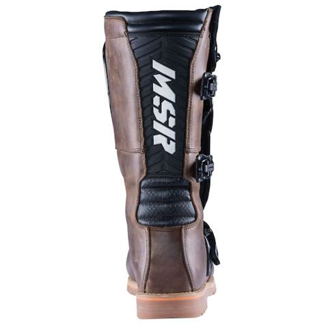 msr motocross boots msr dual sport boots size 8 only revzilla
