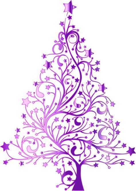 christmas purple cliparts   clip art