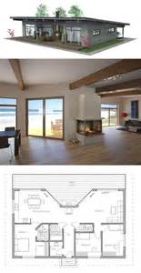 plan floor small house plans casita modern vacation with loft home