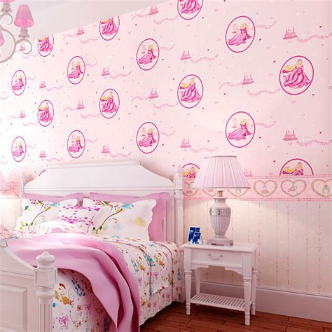disney wallpaper for bedrooms pure pink disney princess bedroom wallpaper romantic girl