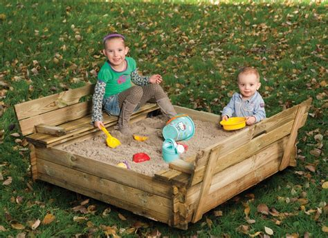 sandpit bench sand pit with bench lid