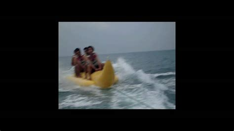 banana boat ride youtube banana boat ride in the middle of the sea youtube