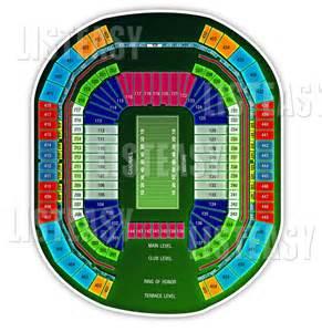 arizona cardinals seating map 10 tickets arizona cardinals 12 7 14 of