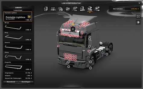 allround lightbox  ets  euro truck simulator  mods