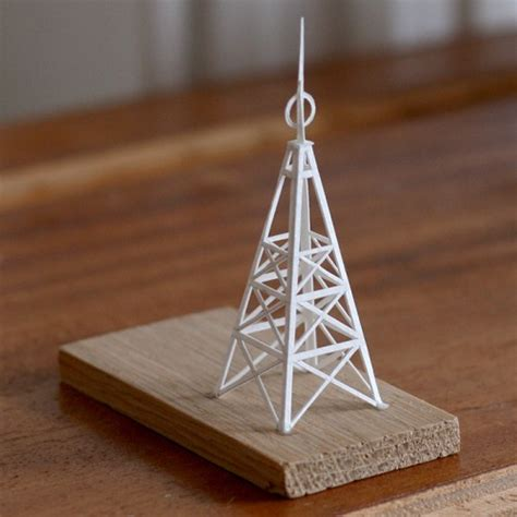 How To Make A Paper Tower - artist charles crafts mini paper metropolis on the