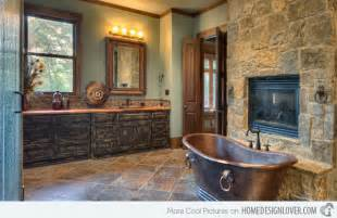 15 bathroom designs of rustic elegance house decorators