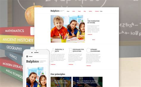 themes joomla education elementary school tutoring joomla template