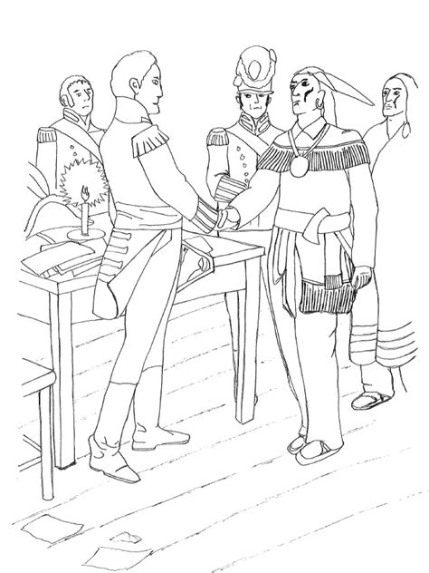 War Of 1812 Coloring Pages war 1812 colouring pages