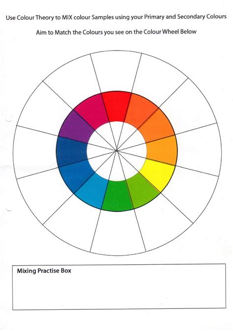 Color Wheel Worksheet by 25 Best Ideas About Color Wheel Worksheet On