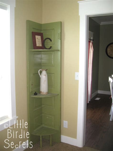 Door Corner Shelf by One Sassy Make This New Door Shelf