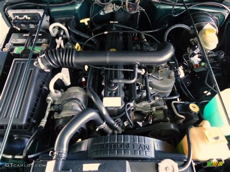 1999 Jeep Engine 1999 Jeep Wrangler Sport 4x4 4 0 Liter Ohv 12 Valve Inline