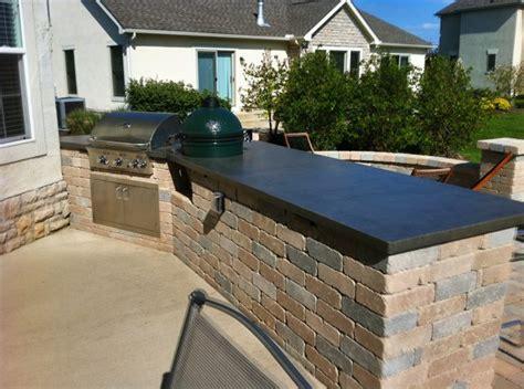 Outdoor Concrete Countertops by Counterevolutioncustom Concrete Countertops Dayton Ohio