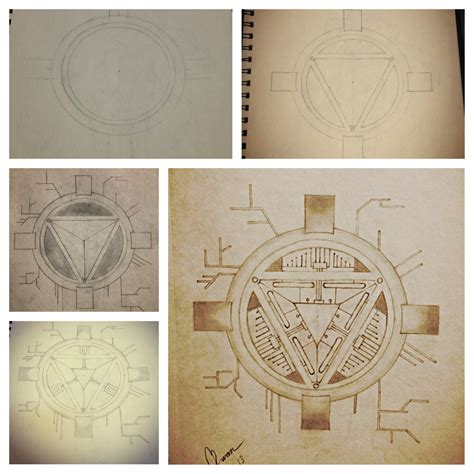 arc reactor tattoo iron arc reactor by wrmchn3 on deviantart