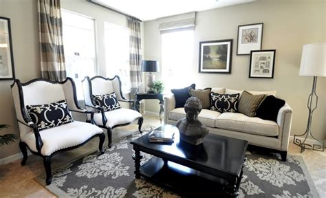 black and beige living room i did it again centsational
