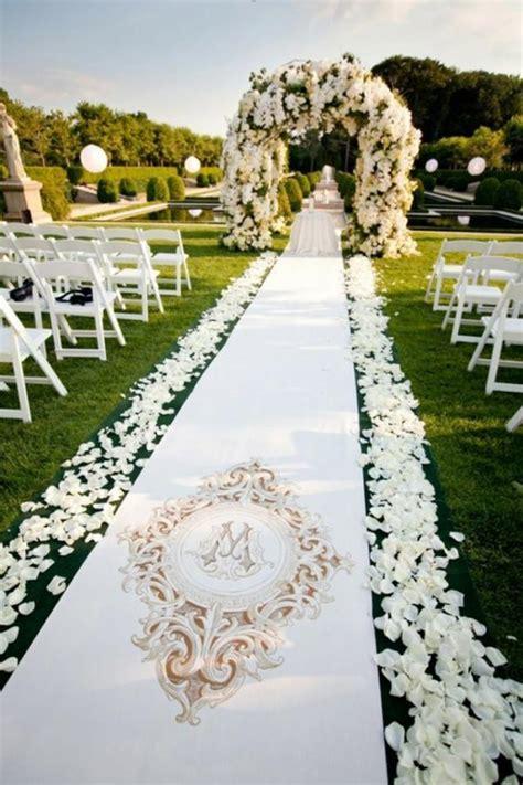 Un mariage extérieur   25 idées de décoration