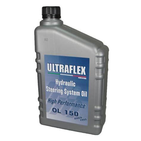 ultraflex hydraulic steering oil sheridan marine - Marine Hydraulic Steering Oil