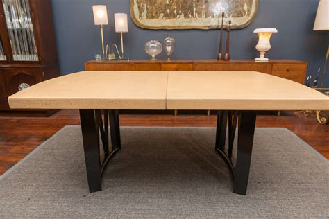 paul frankl cork dining table for sale at 1stdibs