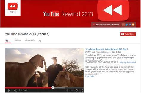 download youtube rewind 2013 mp3 youtube rewind 2013 los v 237 deos m 225 s vistos en youtube en