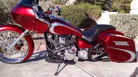 custom yamaha road star ci motorcycle bike bagger hd road glide fairing