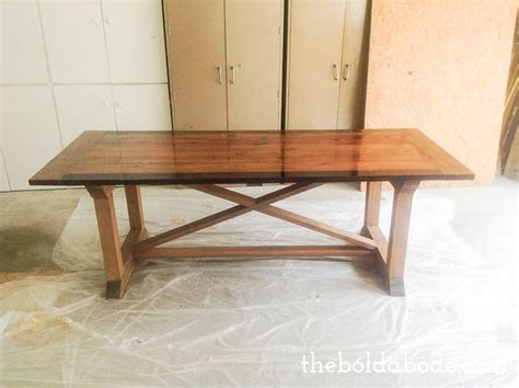 diy farmhouse table with tips from grandy