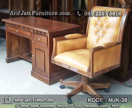 Meja Dan Kursi Kantor Murah meja dan kursi kantor jati harga murah arif jati furniture