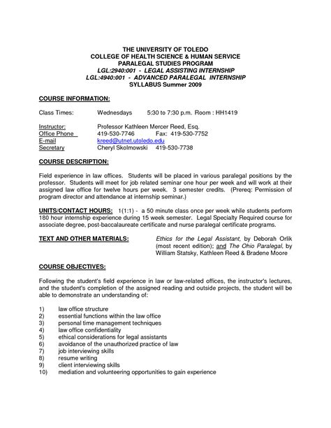 Employment Attorney Cover Letter by Sle Cover Letter For Entry Level Paralegal Cover Letter Personal Injury
