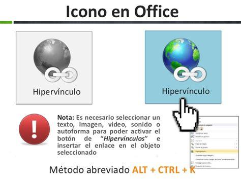 tutorial de powerpoint 2010 hipervinculos hipervinculos en office