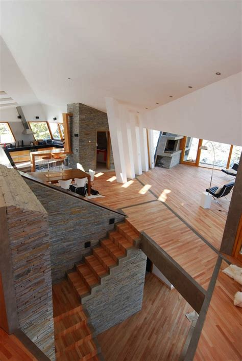 dynamic architecture ribbon house by g2 estudio