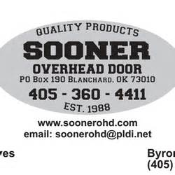 Sooner Overhead Door Sooner Overhead Door Service Llc Garage Door Services Tri City Norman Ok Phone Number Yelp