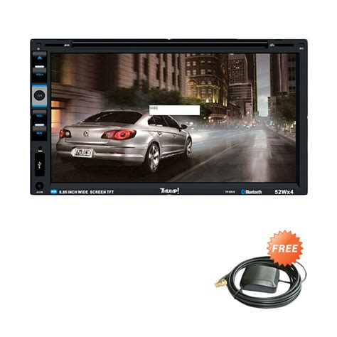 Tv Mobil Thump jual thump tp 6910 with gps hitam unit din