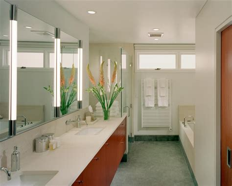 Modern Bathroom Mirror Lighting Vanity Light Bar Bathroom Modern With Ceiling Lighting Sinks Beeyoutifullife