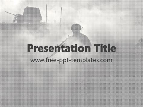 war ppt template