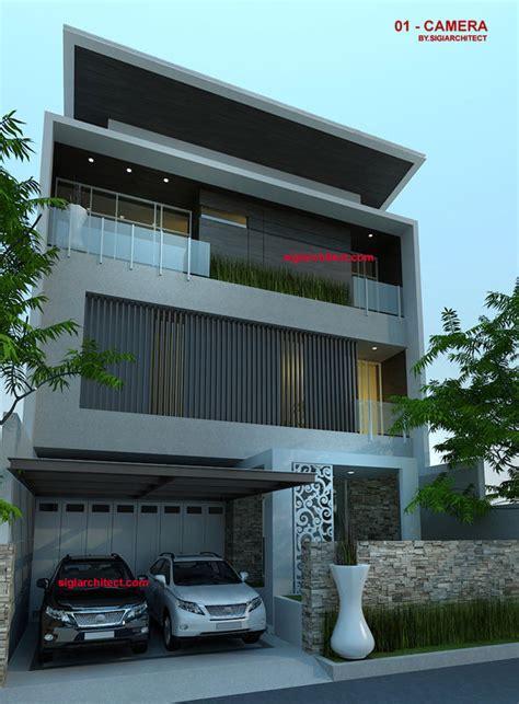 rumah mewah  lantai modern minimalis