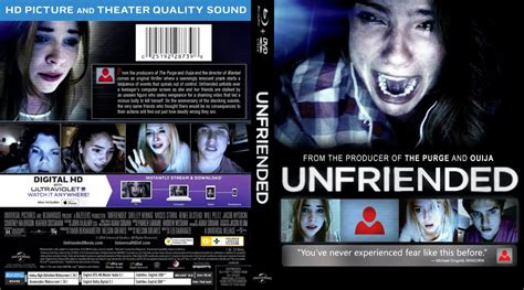 film gratis unfriended unfriended movie blu ray scanned covers unfriended br