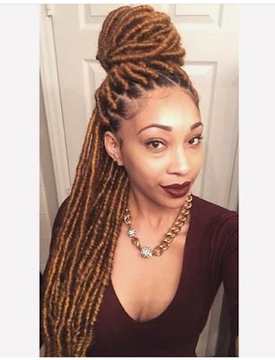 can i use human hair for faux locs 15 beautiful ways to style faux locs hairstyle for 2017