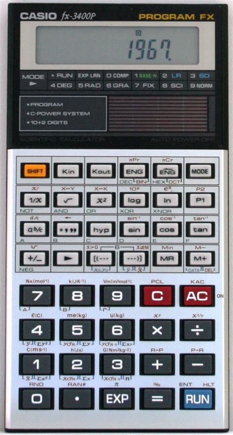 Casio Fx 3650p Kalkulator Ilmiah casio fx 3400p casio pocket computers calculators collector pb fx cfx sl sf casio fx