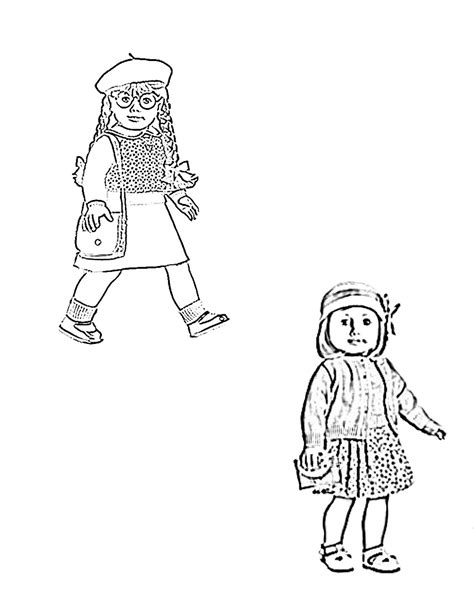 free coloring pages of american girl dolls american girl doll coloring pages coloringsuite com