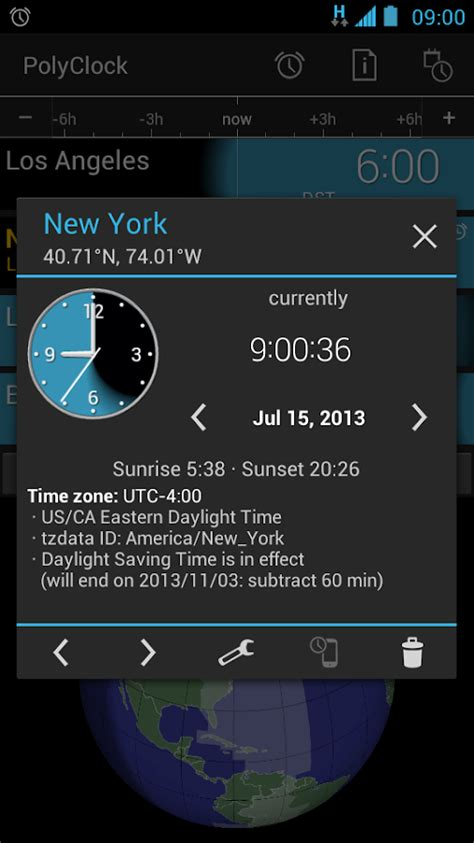 android themes zone polyclock world clock android apps on google play