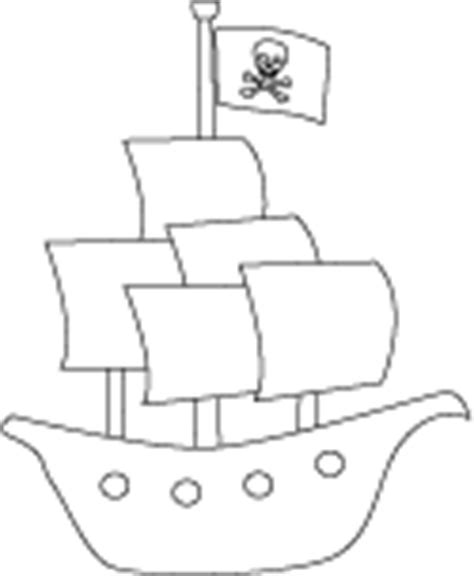 pirate ship sails template pirate coloring sheets outlines and digital stes