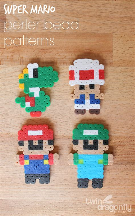 perler bead mario mario perler bead patterns 187 dragonfly designs