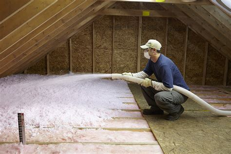 Attic Insulation Installation - everlast insulation new construction done right