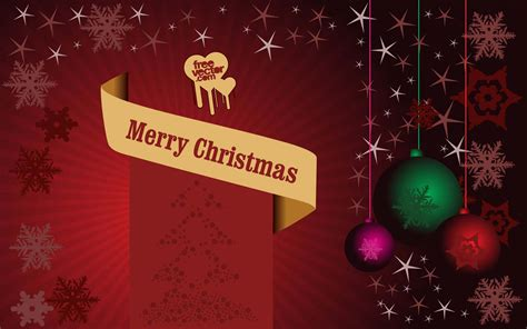christmas poster vector art graphics freevector com