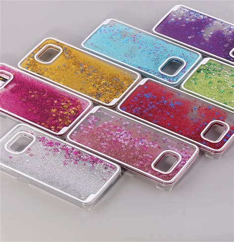 Samsung S7 Edge Softcase Soft Water Glitter Parfume Series buy wholesale samsung galaxy a5 liquid from